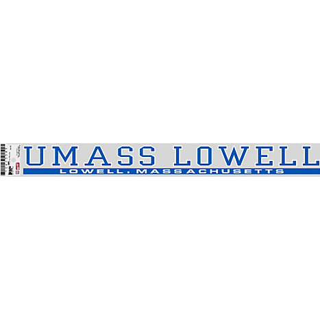 Product: UMass Lowell Strip Decal