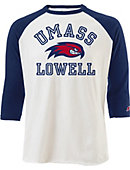 UMass - Lowell All American Baseball Long Sleeve T-Shirt