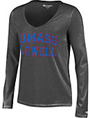 UMass - Lowell Women's Long Sleeve V-Neck T-Shirt