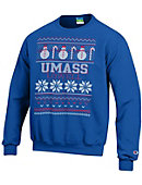 UMass - Lowell Ugly Sweater Crewneck Sweatshirt