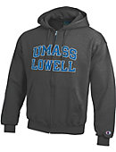 UMass Lowell Full-Zip Hooded Sweatshirt