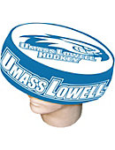 UMass - Lowell Hawks Foam Hockey Puck Hat