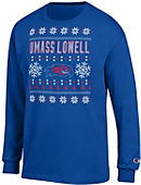 UMass - Lowell Ugly Sweater Long Sleeve T-Shirt