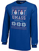 UMass - Lowell Youth Christmas Long Sleeve T-Shirt