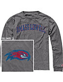 UMass - Lowell River Hawks Victory Falls Long Sleeve T-Shirt