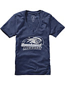 UMass - Lowell Lacrosse Women's V-Neck T-Shirt
