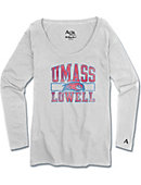 UMass - Lowell River Hawks Raglan Long Sleeve T-Shirt