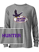 Hunter College  Hawks Long Sleeve Victory Falls T-Shirt