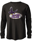 Hunter College  Watch Hill Waffle Long Sleeve T-Shirt