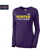 Hunter College  Women's Long Sleve T-Shirt