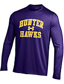 Hunter College  Hawks Novelty Tech Performance Long Sleeve T-Shirt