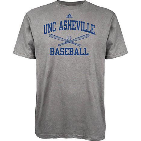 Adidas university of north carolina at asheville baseball for University of north carolina t shirts
