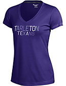 Tarleton State University Texans Women's V-Neck Vapor T-Shirt