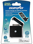 DIGIPOWER CHARGER MIZCO IPOD/IPHN INSTNT