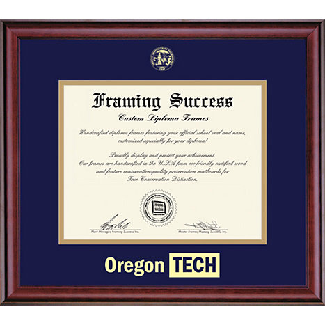 Product: Oregon Institute of Technology 8.5x11 Classic Diploma Frame