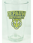 DEPAUW University Tigers 16 oz. Drink Glass