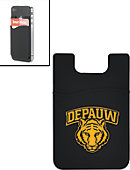 DEPAUW University Tigers Silicone Media Wallet