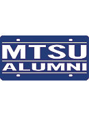 Middle Tennessee State University License Plate Frames