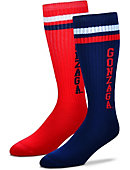 Gonzaga University Women's Mismatch Socks