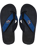 Gonzaga University Bulldogs Canvas Versity Flip Flops