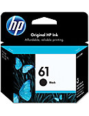HP Ink Cartridge 61 Black CH561WN#140