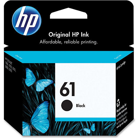 Product: HEWLETT PACKARD INK CART HP 61 BLACK CH561WN#140