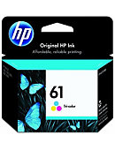 HP Ink Cartridge 61 Tri-Color CH562WN#140