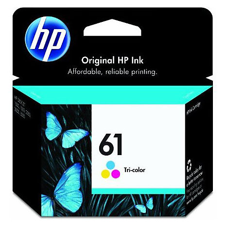 Product: HP Ink Cartridge 61 Tri-Color CH562WN#140