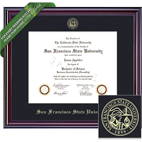 San Francisco State University 8 5 X 11 Elite Diploma