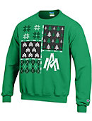 University of Arkansas at Monticello Ugly Sweater Crewneck Sweatshirt