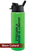 University of Arkansas at Monticello 28 oz. Aluminum Water Bottle