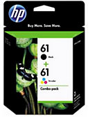 HP Ink Cartridge 61 Combo CR259FN#140