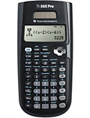 TI-36XPRO SCIENTIFIC CALCULATOR