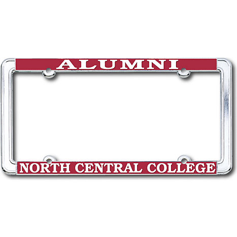 Product: North Central College Alumni License Plate Frame