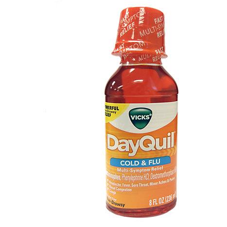 Vicks DayQuil™ Cold & Flu Relief Liquid Medicine