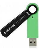 16GB Capless USB Drive Green