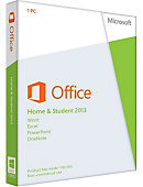 MICROSOFT MS OFFICE HOME STUD 2013 1 PC