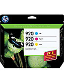 INK CART HP 920 COMBO PACK B3B30FN#140
