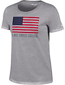 Lake Forest College Women's Athletic Fit Short Sleeve T-Shirt