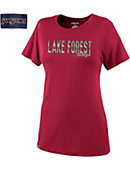 Lake Forest College Foresters Women's Relaxed Fit Shirt Sleeve T-Shirt