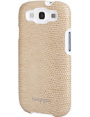 Kensington Samsung Galaxy 3 Leather Shell Coffee Snake - ONLINE ONLY