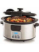 BELLA 6 Quart Locking Lid Slow Cookr - ONLINE ONLY