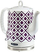 BELLA IKAT Ceramic Kettle Purple - ONLINE ONLY