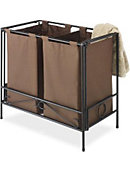 Folding Double Hamper Java - ONLINE ONLY