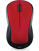 Logitech Wireless Mouse M310 - HANDS RED - ONLINE ONLY