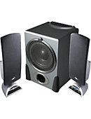 Cyber Acoustics 2.1 Black Speaker System - ONLINE ONLY
