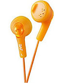 JVC Gumy Earbuds in Orange