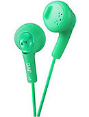 JVC Gumy Earbuds in Green