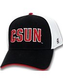 California State University at Northridge Stretch Fitted Micro Mesh Cap