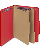 Smead Pressboard Classification Folder with SafeSHIELD Fasteners - ONLINE ONLY